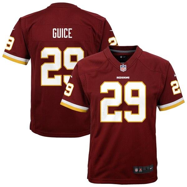 Derrius Guice Washington Redskins Nike Youth Game Jersey - Burgundy