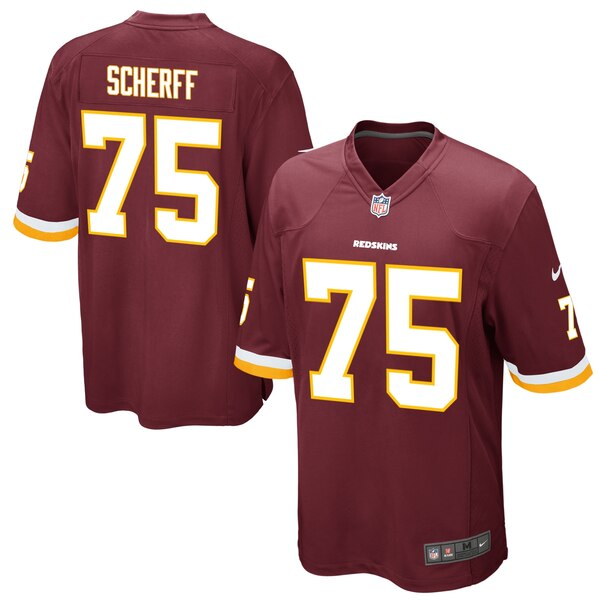 Brandon Scherff Washington Redskins Nike Game Jersey - Burgundy