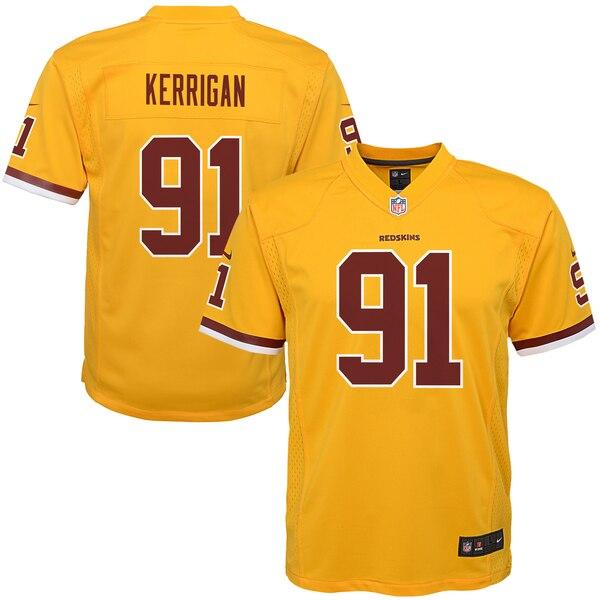 Ryan Kerrigan Washington Redskins Nike Youth Color Rush Game Jersey - Gold