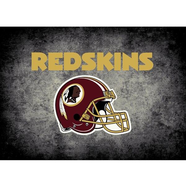 Washington Redskins Imperial 6' x 8' Distressed Rug