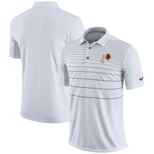 Washington Redskins Nike Sideline Early Season Performance Polo - White