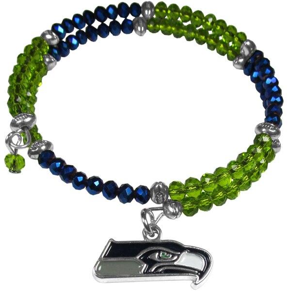 Seattle Seahawks Women's 400 Degrees Crystal Bracelet