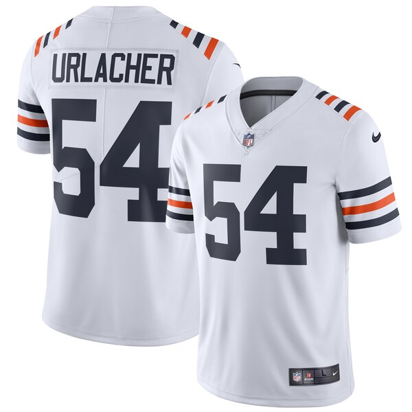 Brian Urlacher Chicago Bears Nike 2019 Alternate Classic Retired Player Limited Jersey - White