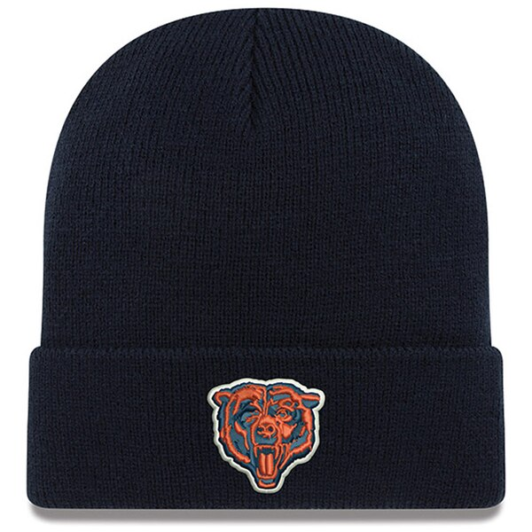Chicago Bears New Era Cuffed Knit Hat - Navy