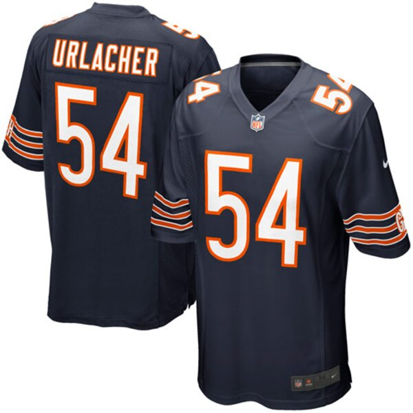 Brian Urlacher Chicago Bears Nike Game Jersey - Navy Blue