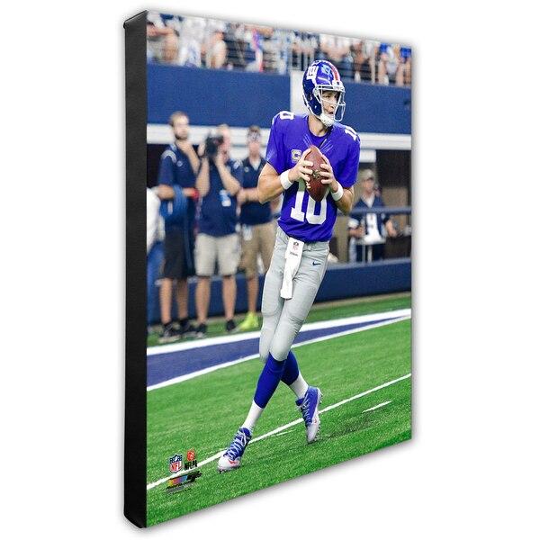 "Eli Manning New York Giants 16"" x 20"" Player Canvas"