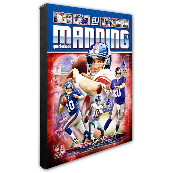 "Eli Manning New York Giants 16"" x 20"" Player Portrait Canvas"