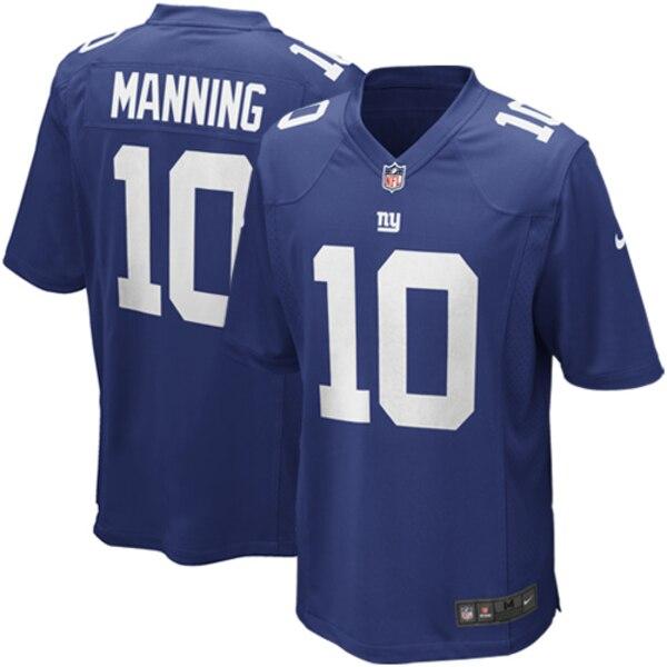 Eli Manning New York Giants Nike Game Jersey - Royal Blue