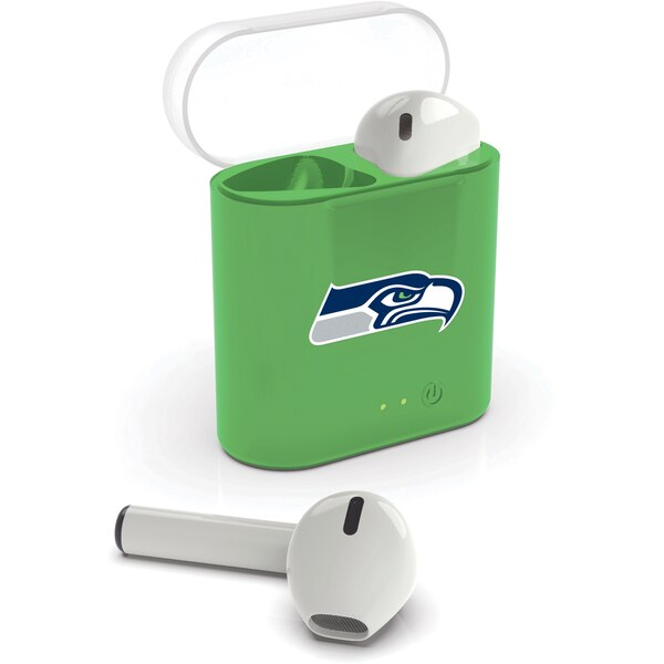 Seattle Seahawks True Wireless Bluetooth Earbud Headphones
