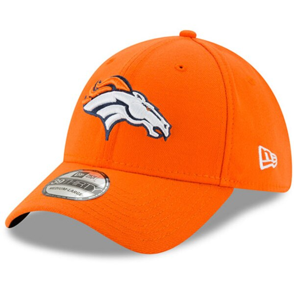 Denver Broncos New Era 39THIRTY Flex Team Classic Hat - Orange