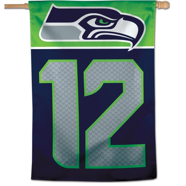 """Seattle Seahawks WinCraft 28"""" x 40"""" 12s Single-Sided Vertical Banner"""