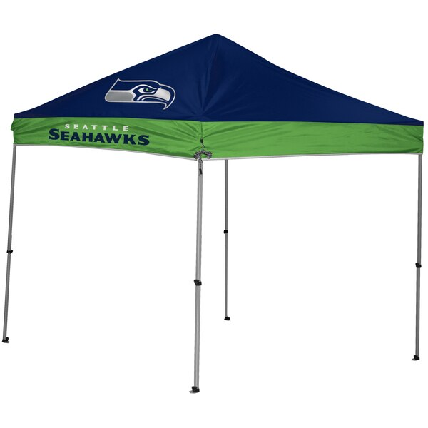 Seattle Seahawks 9' x 9' 2-Tone Straight Leg Canopy Tent