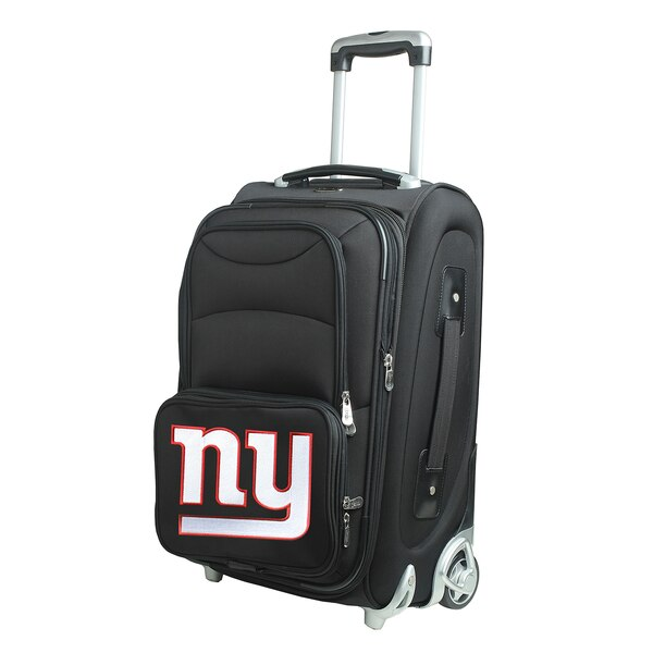 """New York Giants 21"""" Rolling Carry-On Suitcase"""