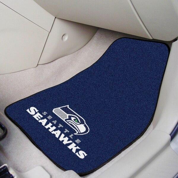 Seattle Seahawks 2-Piece Carpet Car Mat Set
