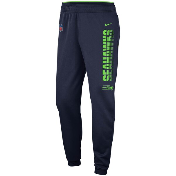 Seattle Seahawks Nike Team Logo Sideline Performance Pants - College Navy