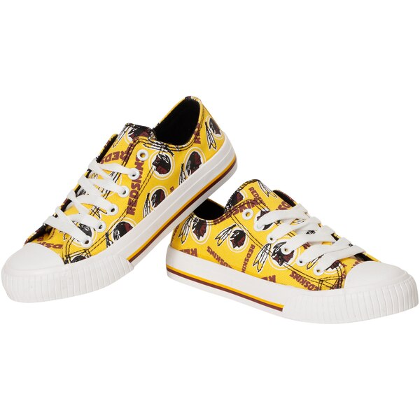 Washington Redskins Women's Repeat Print Low Top Sneakers