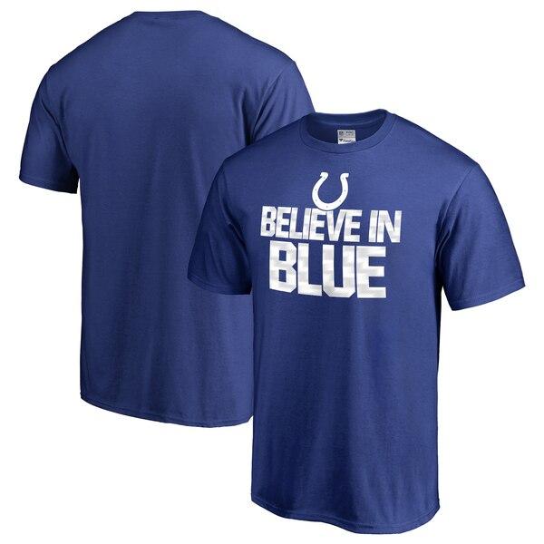 Indianapolis Colts NFL Pro Line Big & Tall Mantra T-Shirt - Royal