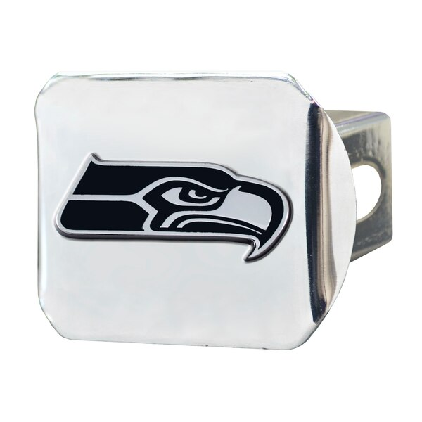 Seattle Seahawks Chrome on Chrome Hitch Cover