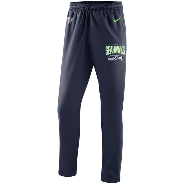 Seattle Seahawks Nike Sideline Practice Performance Pants - College Navy