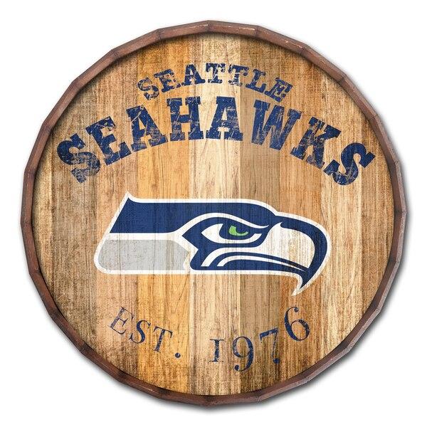 Seattle Seahawks 24'' Established Date Barrel Top