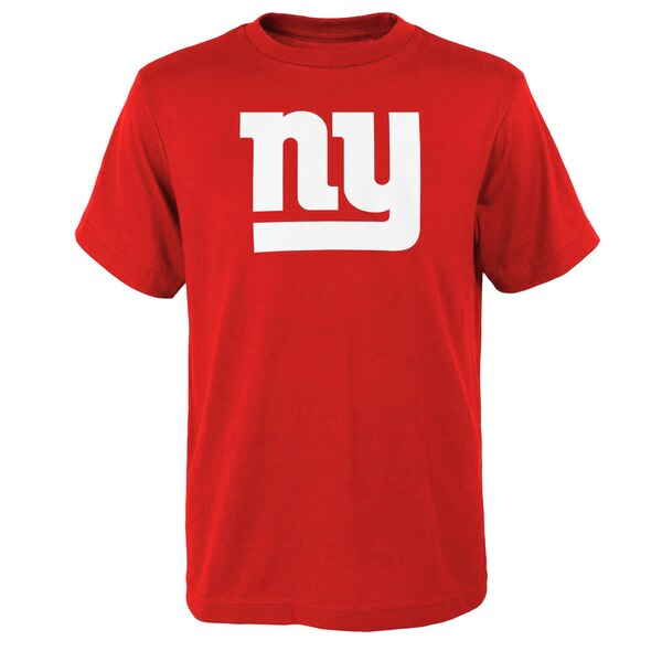 New York Giants Youth Primary Logo T-Shirt - Red