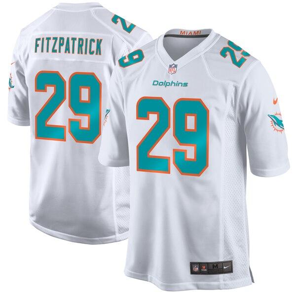 Minkah Fitzpatrick Miami Dolphins Nike Game Jersey - White
