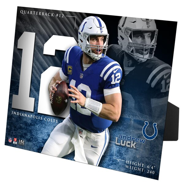 Andrew Luck Indianapolis Colts Highland Mint 8'' x 10'' PleXart