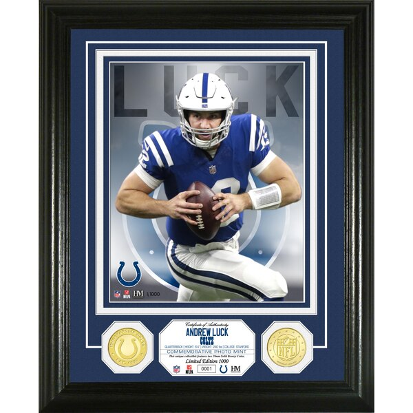 Andrew Luck Indianapolis Colts Highland Mint 13'' x 16'' Photo Mint