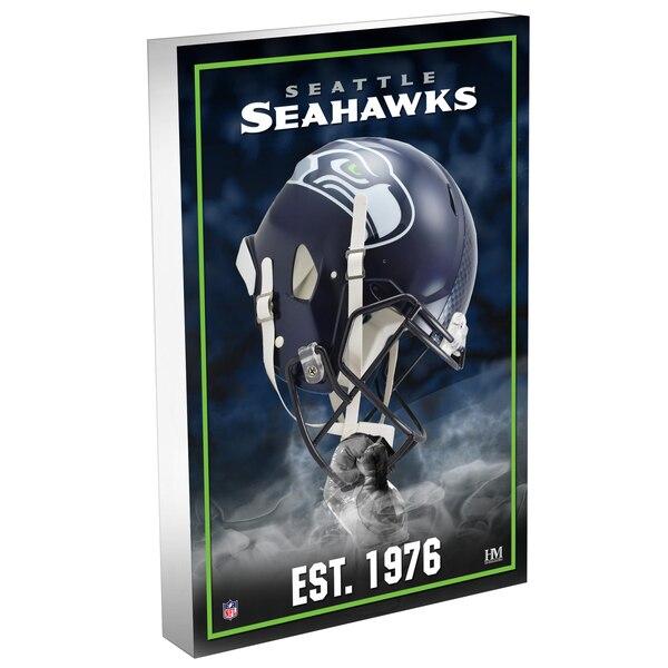 Seattle Seahawks Highland Mint 4'' x 6'' Team Pride 3D Acrylic BlocKart