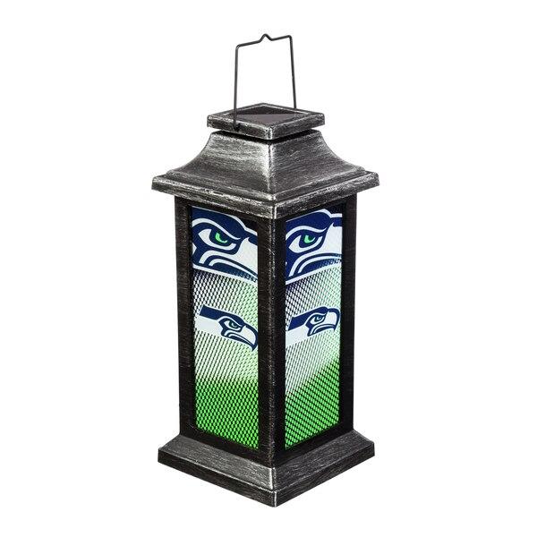Seattle Seahawks Solar Garden Lantern