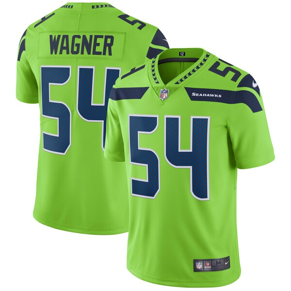 Bobby Wagner Seattle Seahawks Nike Vapor Untouchable Color Rush Limited Player Jersey - Neon Green