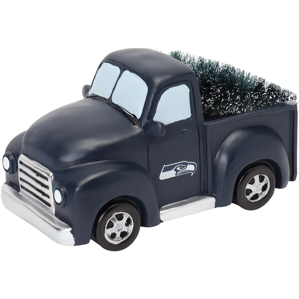 Seattle Seahawks Truck With Tree Table Top Ornament