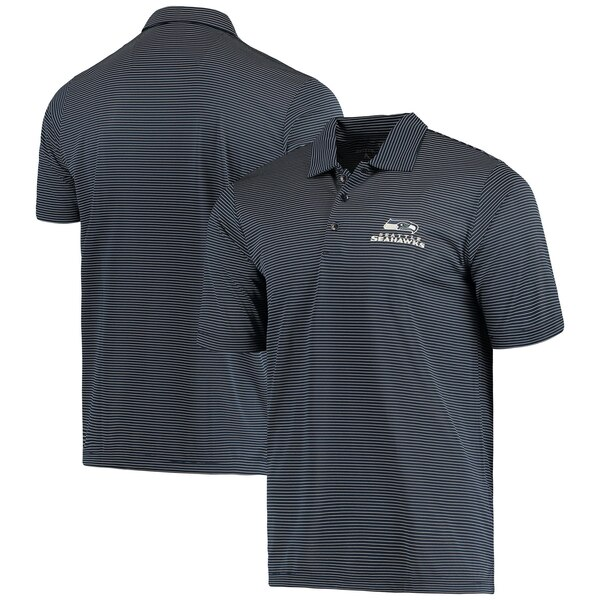 Seattle Seahawks Antigua Quest Polo - College Navy/White