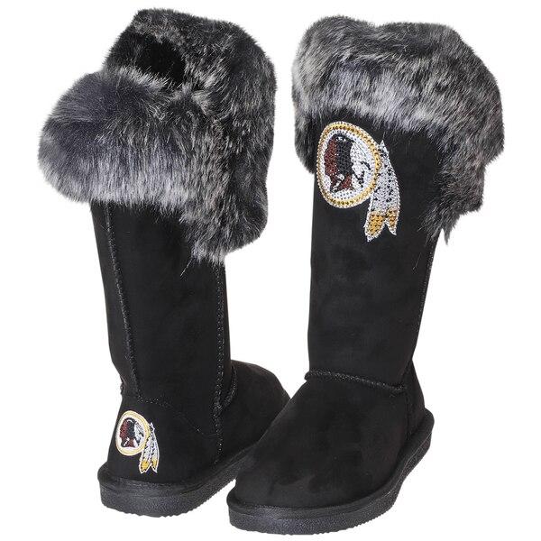 Washington Redskins Cuce Women's Devoted Boots - Black