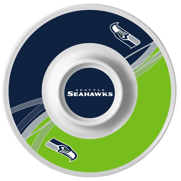 Seattle Seahawks Dynamic Chip & Dip Platter