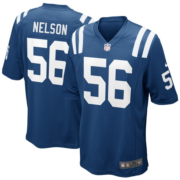 Quenton Nelson Indianapolis Colts Nike Game Jersey - Royal