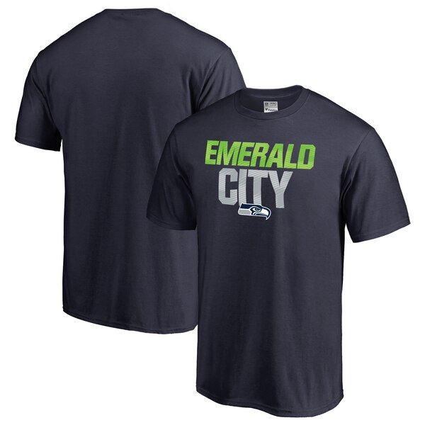 Seattle Seahawks NFL Pro Line Big & Tall Mantra T-Shirt - College Navy