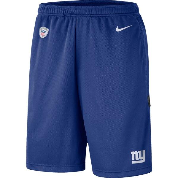 New York Giants Nike Sideline Coaches Performance Shorts - Royal
