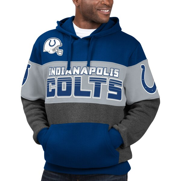 Indianapolis Colts G-III Sports by Carl Banks Extreme Special Team Pullover Hoodie - Royal