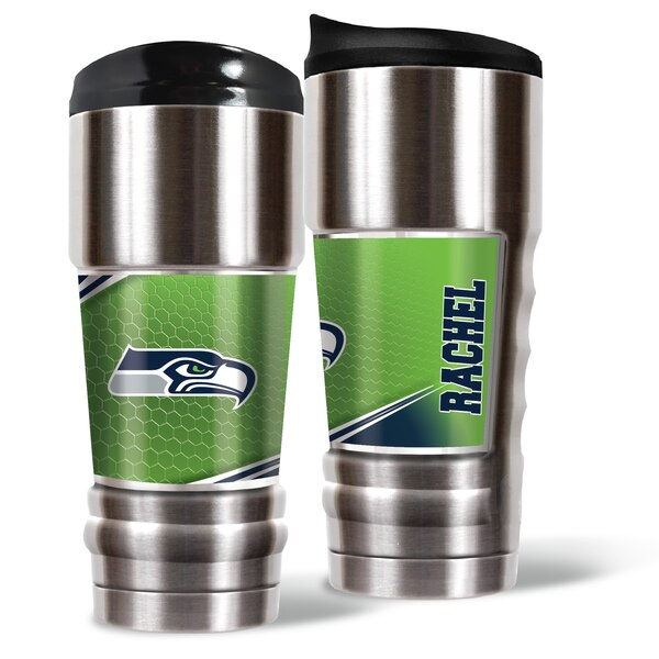 Seattle Seahawks 18oz. Personalized MVP Tumbler