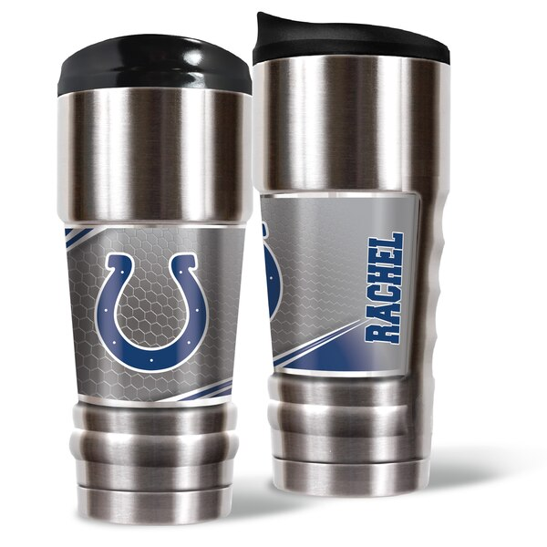 Indianapolis Colts 18oz. Personalized MVP Tumbler
