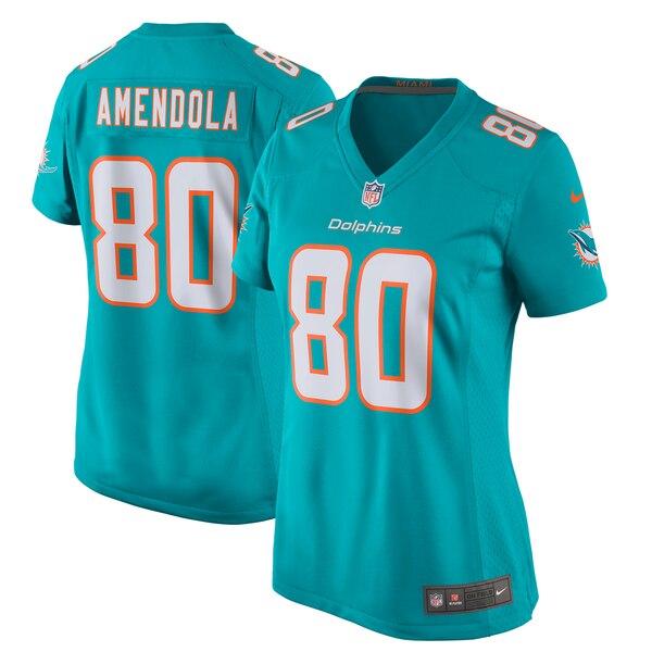 Danny Amendola Miami Dolphins Nike Women's New 2018 Game Jersey - Aqua