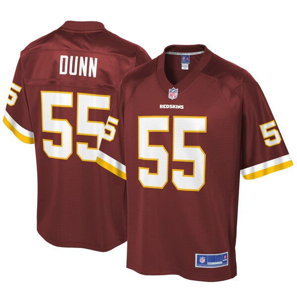 Casey Dunn Washington Redskins NFL Pro Line Big & Tall Player Jersey - Burgundy