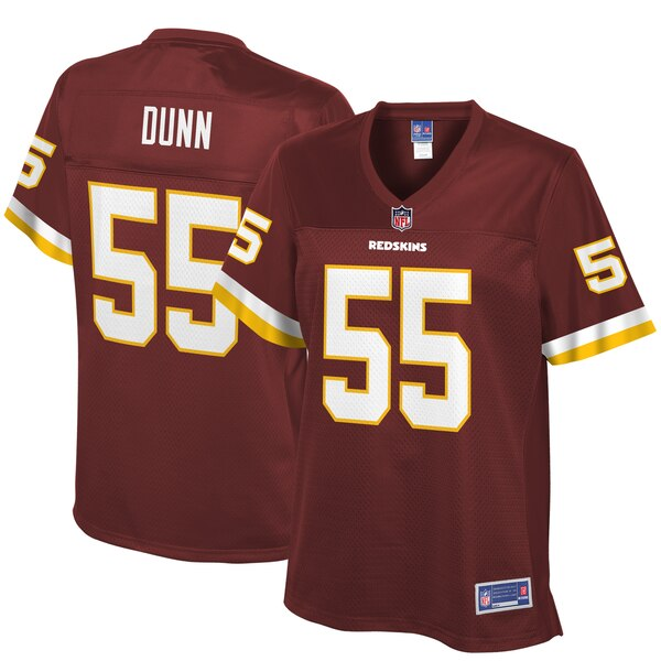 Casey Dunn Washington Redskins NFL Pro Line Women's Player Jersey - Burgundy