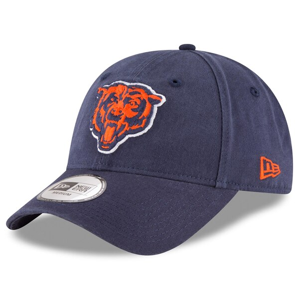Chicago Bears New Era NE Core Fit 49FORTY Fitted Hat - Navy