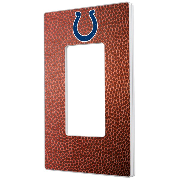 Indianapolis Colts Football Design Single Rocker Light Switch Plate