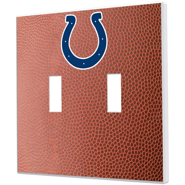 Indianapolis Colts Football Design Double Toggle Light Switch Plate