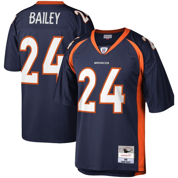 Champ Bailey Denver Broncos Mitchell & Ness Legacy Replica Jersey - Navy