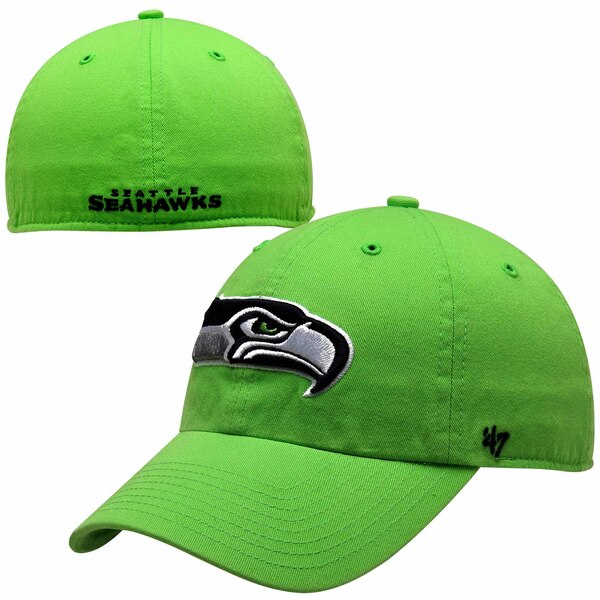 Seattle Seahawks '47 Brand Franchise Fitted Hat - Neon Green