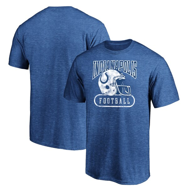 Indianapolis Colts NFL Pro Line by Fanatics Branded True Classics Pro Club Throwback T-Shirt - Royal
